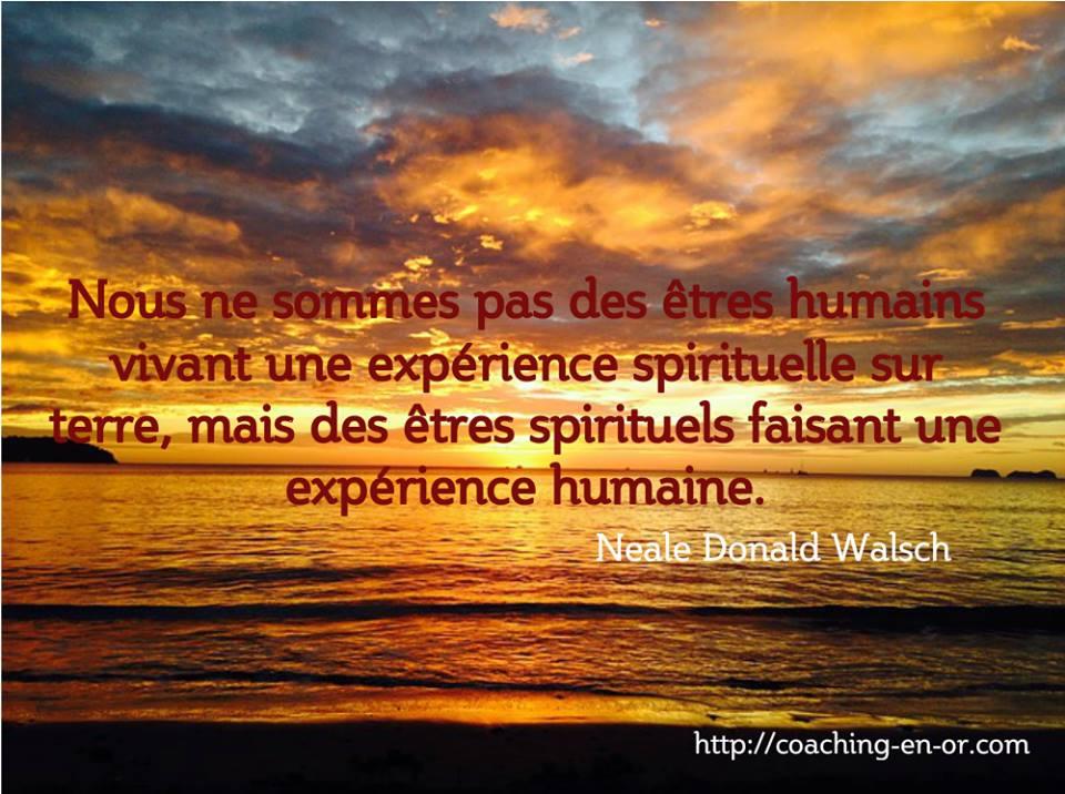 experience spirituelle Neale Donald W W